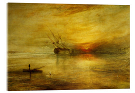 Acrylic print  Fort Vimieux - Joseph Mallord William Turner