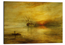 Aluminium print  Fort Vimieux - Joseph Mallord William Turner