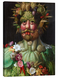 Canvas  Rudolf II of Habsburg as Vertumnus - Giuseppe Arcimboldo