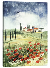 Canvas print  Toscana III - Franz Heigl