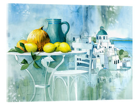 Acrylic print  Watercolors from the south - Franz Heigl