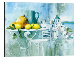 Aluminium print  Watercolors from the south - Franz Heigl