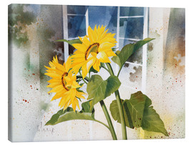Canvas print  Sunflowers - Franz Heigl