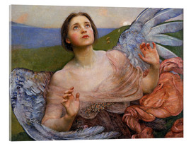 Acrylic glass  The Sense of Sight - Annie Louisa Swynnerton
