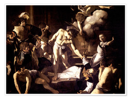 Premium poster The Martyrdom of Saint Matthew