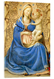 Acrylic print  Madonna with Child - Fra Angelico