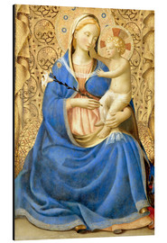Aluminium print  Madonna with Child - Fra Angelico