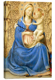 Canvas print  Madonna with Child - Fra Angelico
