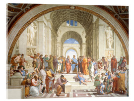 Acrylic print  The School of Athens - Raffael
