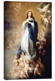 Canvas print  Immaculate Conception of Mary - Bartolome Esteban Murillo