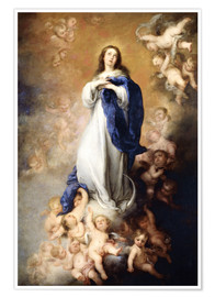 Premium poster Immaculate Conception of Mary