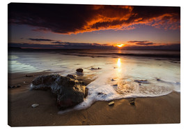 Canvas print  New Zealand Sunrise # 2 - Sebastian Warneke