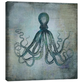 Canvas print  Octopus - Andrea Haase