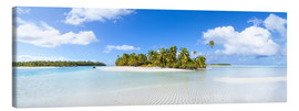 Canvas print  One Foot Island, Cook Islands - Matteo Colombo
