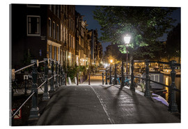 Acrylic glass  One night in Amsterdam - Scott McQuaide