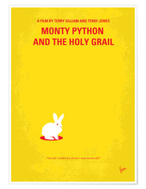 Premium poster  No036 My Monty Pyton And The Holy Grail minimal movie poster - chungkong