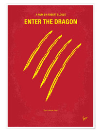 Premium poster  Enter The Dragon - chungkong