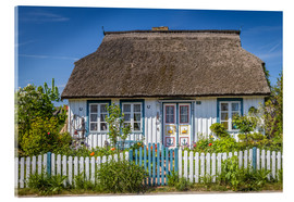 Acrylic print  Thatched cottage on the Baltic Sea - Christian Müringer