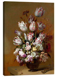 Canvas print  Still Life with Flowers - Hans Bollongier