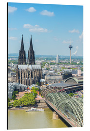 Aluminium print  Cologne Cathedral (Cathedral of St. Peter) - rclassen