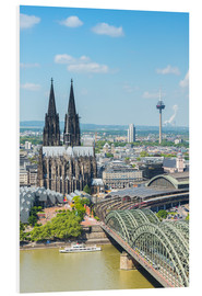 Foam board print  Cologne Cathedral (Cathedral of St. Peter) - rclassen
