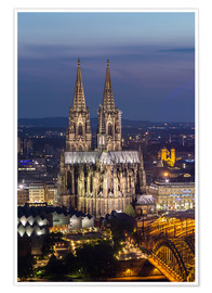 Premium poster  cathedral of cologne - rclassen