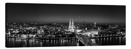 Canvas print  Panorama of the Cologne skyline, Germany - rclassen