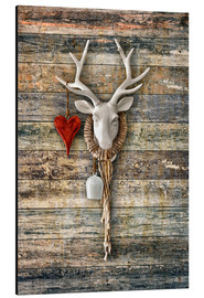 Aluminium print  Deer Heart - ARTSHOT - Photographic Art