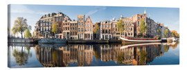 Canvas  Amsterdam panorama - George Pachantouris