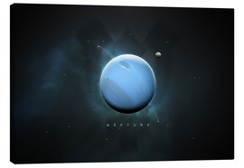 Canvas print  Solar System Neptune - Tobias Roetsch