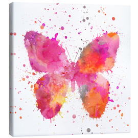 Canvas  Artsy Butterfly - Andrea Haase