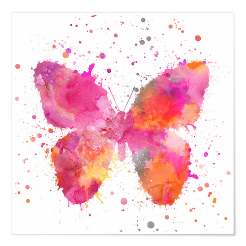 Premium poster Artsy Butterfly