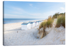 Canvas print  North Sea beach, De Koog - Hannes Cmarits