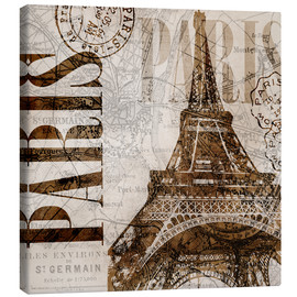 Canvas  Vintage Paris 22 - Andrea Haase