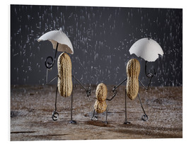 Foam board print  Simple Things - Taking a Walk - Nailia Schwarz
