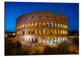 Aluminium print  Colosseum in Rome at night - Jan Christopher Becke