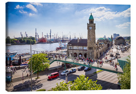 Canvas print  Hamburg - Jan Schuler