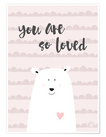 Poster  You are so loved - m.belle
