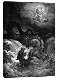 Canvas print  Marduk slaying Tiamat - Gustave Doré
