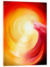 Acrylic glass  Soul journey into the light - Marita Zacharias