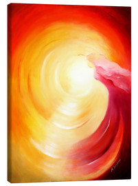 Canvas  Soul journey into the light - Marita Zacharias