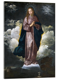 Acrylic print  The Immaculate Conception - Diego Rodriguez de Silva y Velazquez