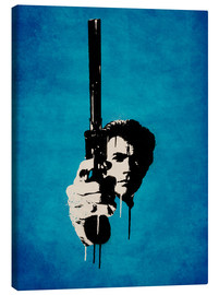 Canvas print  Clint Eastwood - Dirty Harry - Durro Art