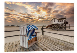Acrylic print  Sankt Peter Ording, Baltic Sea in the Morning - Dennis Stracke