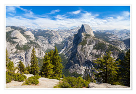 Premium poster  Yosemite National Park, USA - Jan Schuler