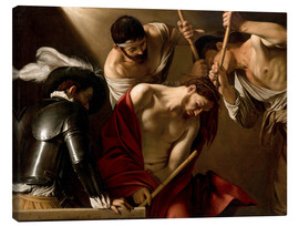 Canvas  The Crowning with Thorns - Michelangelo Merisi (Caravaggio)