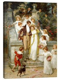 Canvas print  Off for the Honeymoon - Frederick Morgan