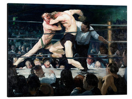 Aluminium print  Stag at Sharkey's - George Wesley Bellows