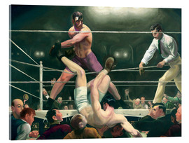 Acrylic glass  Dempsey and Firpo - George Wesley Bellows