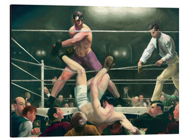 Aluminium print  Dempsey and Firpo - George Wesley Bellows